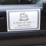 car magnet signs